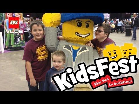 Lego Kidsfest Cleveland Ohio I-X Center Visit International Exposition Center 2016 VLOG