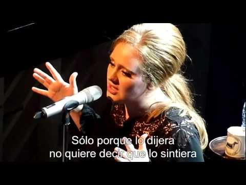 Adele - Rumour has it [Subtitulado al Español]