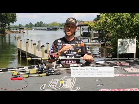 Cashion Flipping Rods explained by John Crews available at Tackle Warehouse