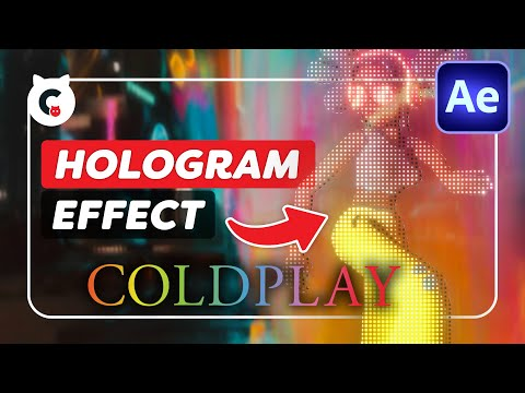 Coldplay ' Higher Power' 3D Hologram (After Effects Tutorial)