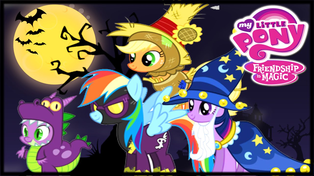 My Little Pony Halloween Party Video Game For Children