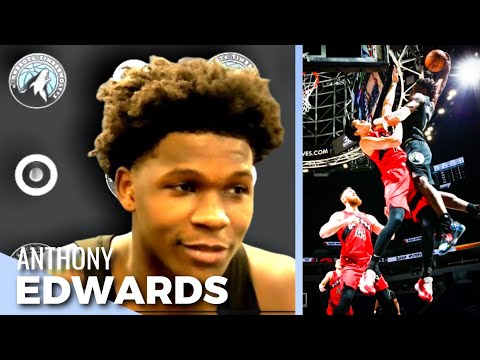 Anthony Edwards Throws Down DUNK OF THE YEAR