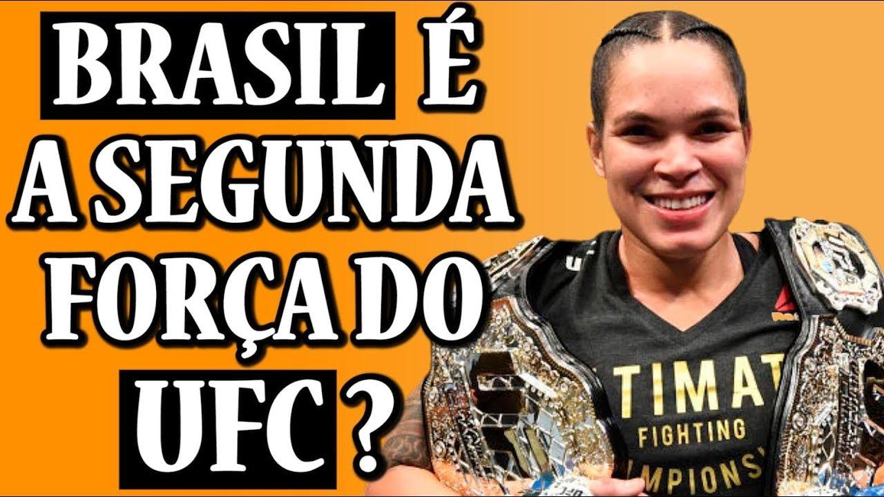 O Brasil ainda é a segunda maior força do MMA dentro do UFC ?