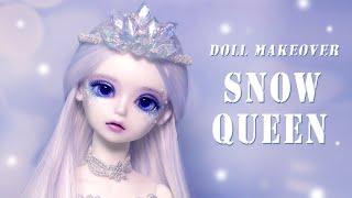 블루페어리 구체관절인형 메이 눈의 여왕 변신! Snow…