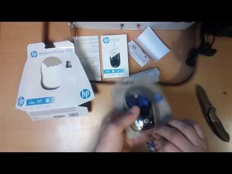 Миша HP 200 Wireless Black (X6W31AA)