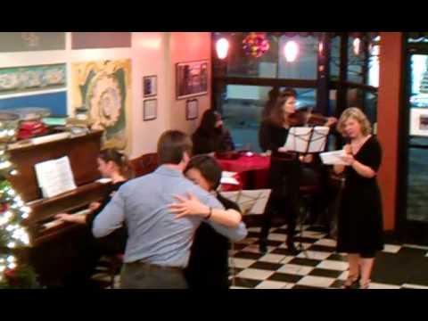 Quinta at Caffe Mediterraneum 2-15-14: Romance de barrio