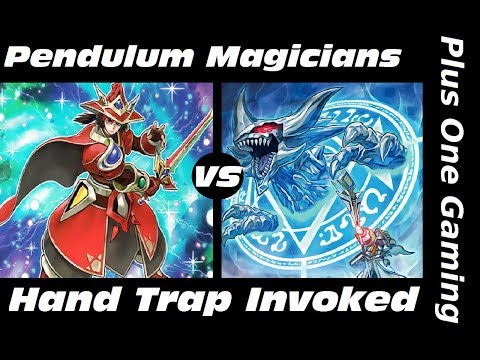 Yu-Gi-Oh! Pendulum Magicians vs Hand Trap Invoked - Plus One Gaming Feature Match