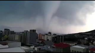 Tornado in Cape Town - South Africa - 6 June 2017 HD