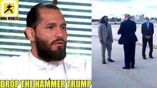 MMA Community Reacts to Joe Biden's Split Decision victory over Donald Trump,Jorge Masvidal,Woodley