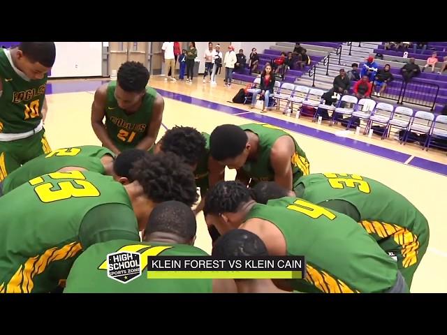 Klein Forest vs Klein Cain Basketball