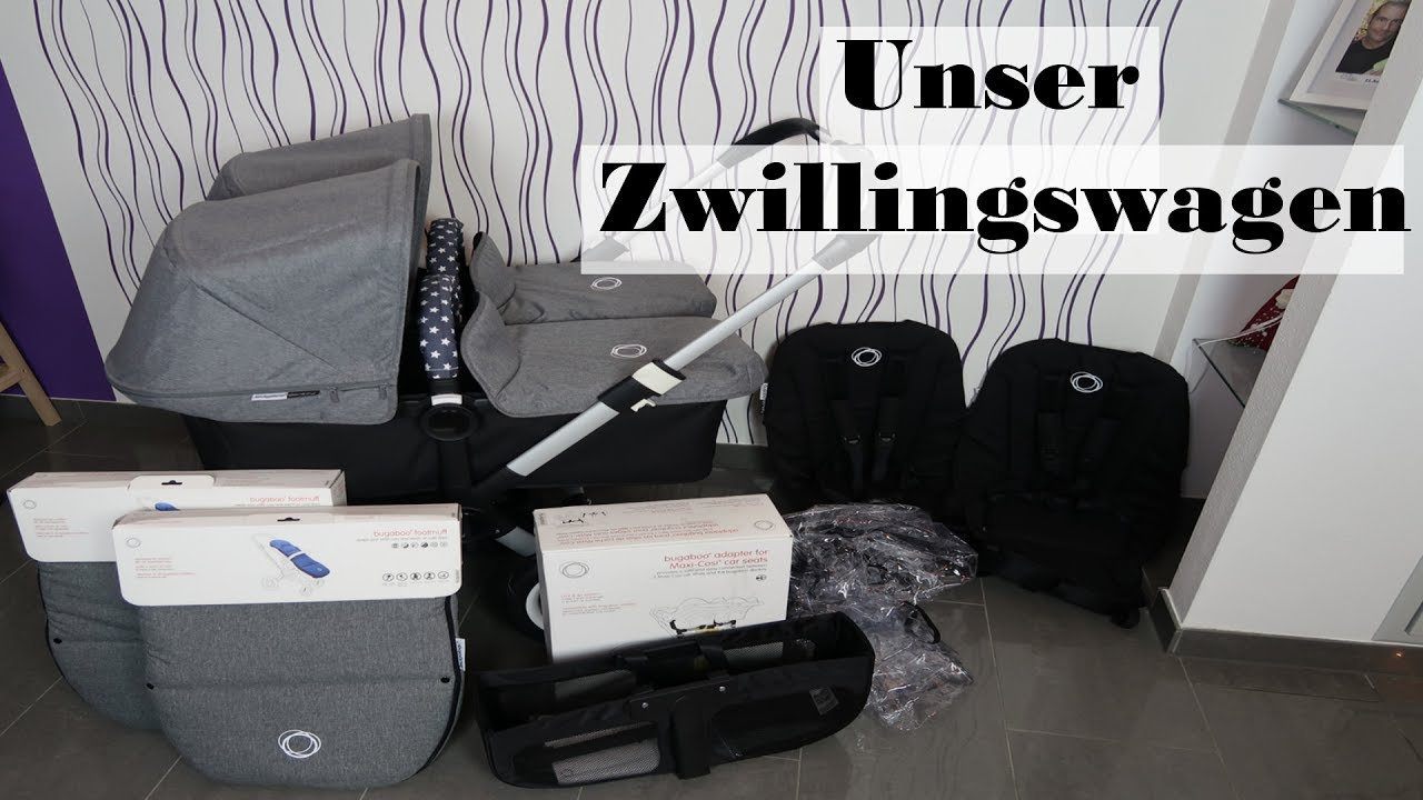 Zwillingskinderwagen bugaboo donkey  Zwillingskinderwagen/Erste Eindrücke/Bugaboo Donkey Twin/Mel´s ...