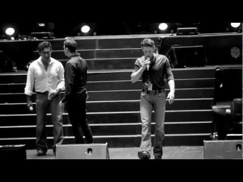 Il Divo - Behind The Scenes Sydney Opera House