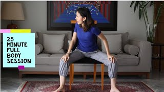 Full Body Chair Yoga for Seniors | NAHMA Yoga