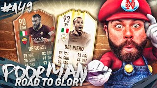 90 FLASHBACK DE ROSSI and 93 ICON MOMENTS DEL PIERO SQUAD! - POOR MAN RTG #149 - FIFA 19 thumbnail