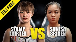 Stamp Fairtex vs. Sunisa Srisen | ONE Championship Full Fight