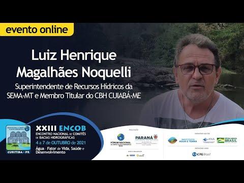 Luiz Henrique Noquelli destaca a importância do CBHs na discussão sobre o Saneamento Básico
