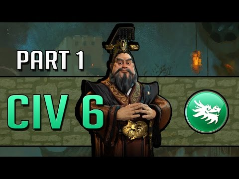 Let's Play Civilization 6 as China (1440p) - Part 1: The Great Wall Will Rise Again!