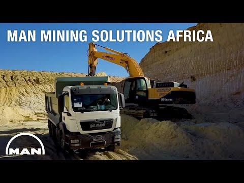 MAN Mining Solutions Africa   MAN Truck & Bus