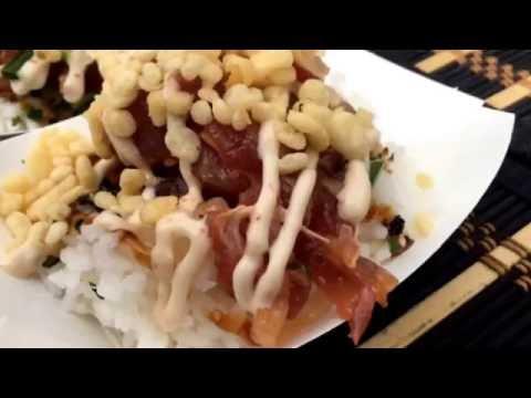 I Love Poke Festival at Pacific Catch Restaurant in San Francisco