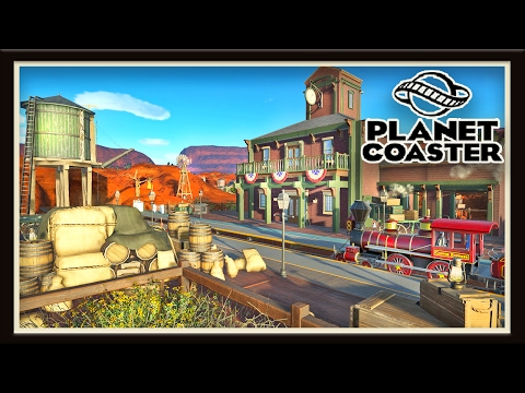 Planet Coaster: Building Tips And Western Ride Station  (Season 2 - part 11)