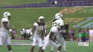 Southeastern Louisiana 58, Stephen F. Austin 34 (10/15/16 - First Half Highlights)