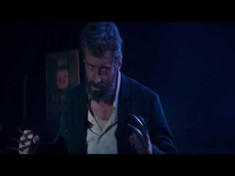 LOGAN (2017) - (LOGAN AGAINST THIEVES SCENE) - BLU-RAY - (1080p)