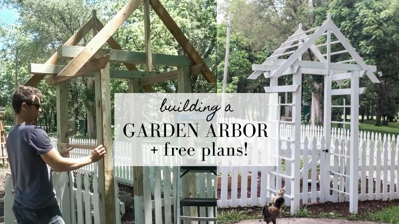Building a Garden Arbor | This week on the homestead episode 10