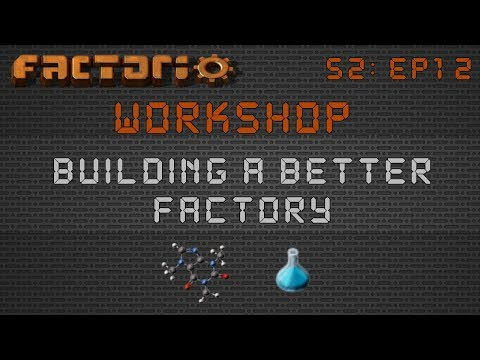 0.15 Blue Science Builds :: Factorio Workshop Season 2 - Building A Better Factory