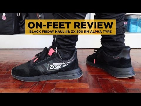 new styles 27f97 18a02 NEW ADIDAS BOOST SNEAKERS UNBOXING & ON-FEET (ZX 500 RM ...