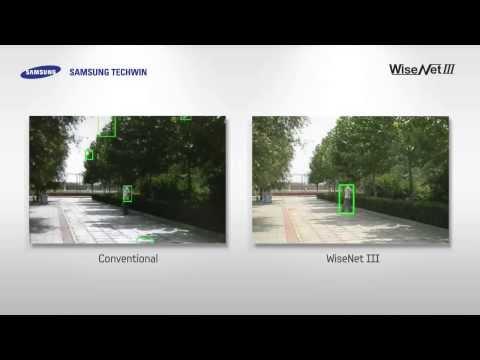 Zaawansowana detekcja ruchu w kamerach z serii WiseNetIII