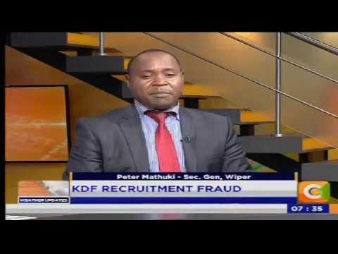KDF Recruitment Fraud #PowerBreakfast