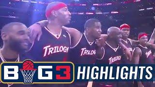 Trilogy vs Killer 3s | BIG3 HIGHLIGHTS