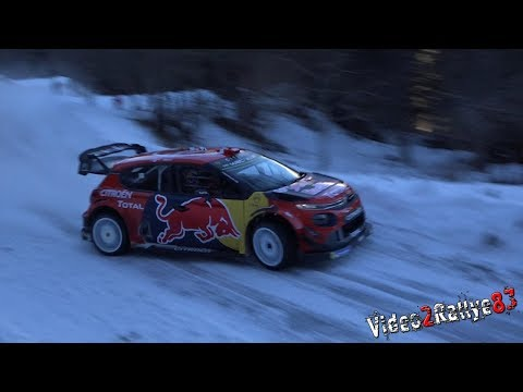 Test Monte Carlo 2019 | Esapekka Lappi | Citroën C3 WRC Full Snow [Day3]