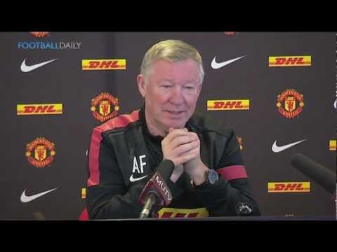 Ferguson jokes about Cristiano Ronaldo