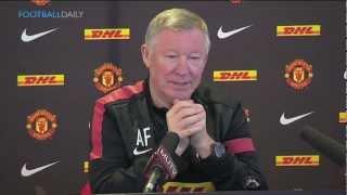 Ferguson jokes about Cristiano Ronaldo