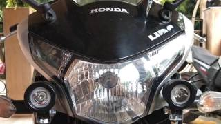 Additional LED Lights for bike | Honda CBR 250R