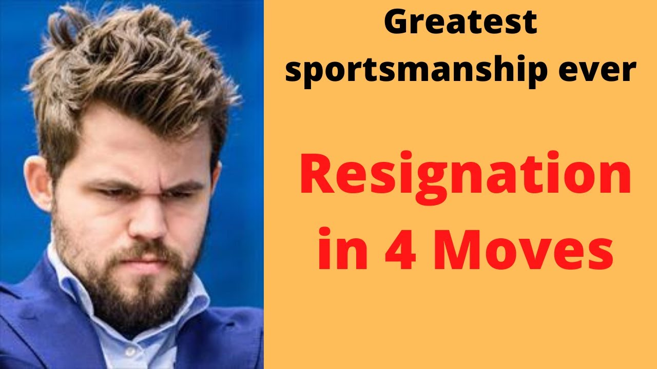 Greatest Sportsmanship Ever !!! The Magnus Carlsen Bravo!! Lead by an example    Chessable Master