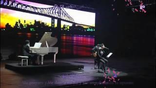 [HD] JYJ W. C. in Seoul - Drunken Truth (Yoochun) (Karaoke + Sub. Español)