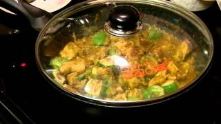 How To Make Thai Green Curry Chicken - My Way - The Simple Way 簡易泰式綠咖喱雞