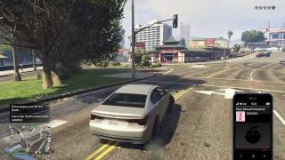 Grand theft auto 5 jet fight