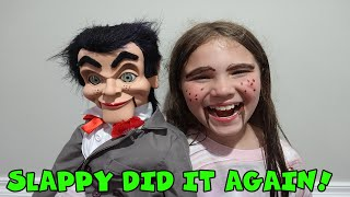 Is Slappy Controlling Carlie? Slappy Has His Own Tik Tok! Come Play With Us