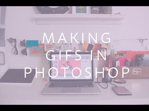 How To Make Gifs Using A Video In Adobe Photoshop CC