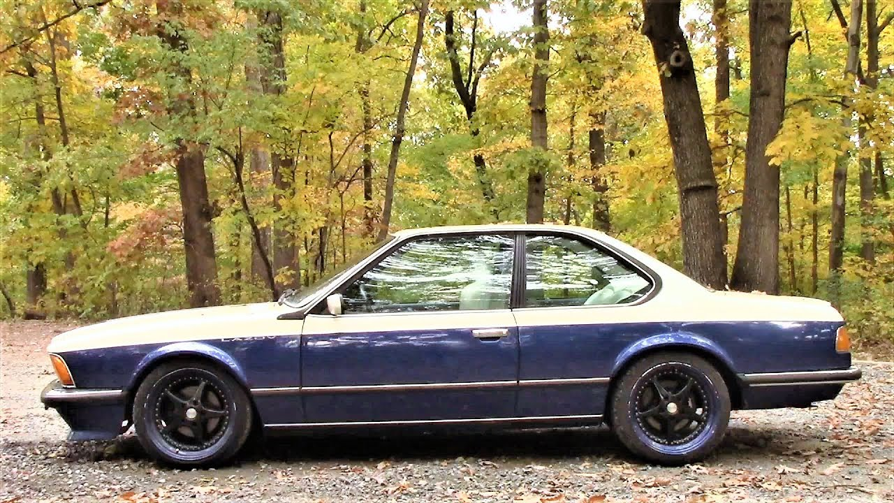 Bmw 635 Csi Road Test Review By Drivin Ivan