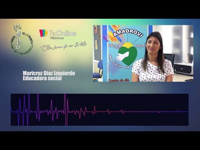 Entrevista MariCruz Diaz Izquierdo, Educadora Social de Amadrovi