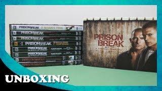 Unboxing - Prison Break - Coleção Completa + O Resgate Final