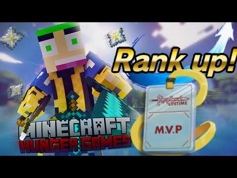 Minecraft - The Hungergames 521 '' DUFFY RANK UP NAAR MVP+ ''