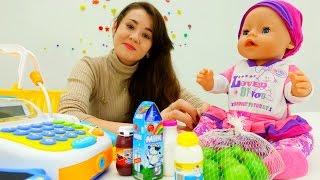 Игры для девочек: Бэбибон Эмили идет в магазин