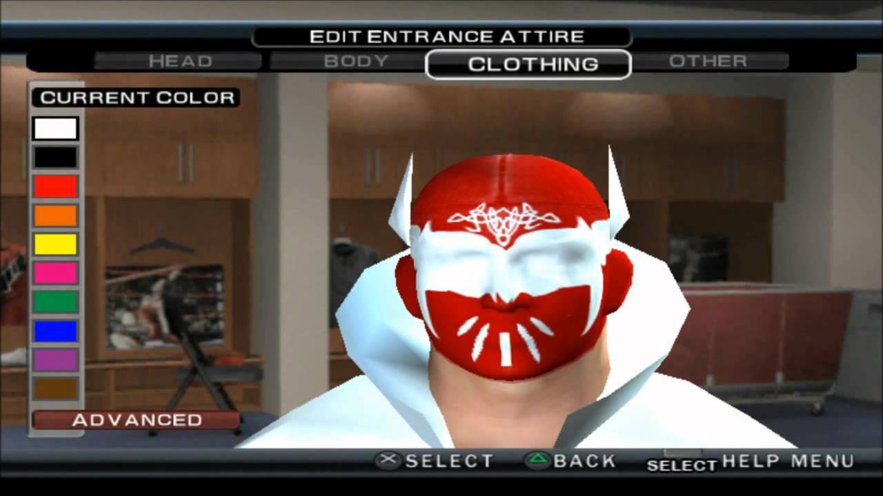WWE 13 SINCARA CAW FORMULA FOR SVR 11 PS2 HD - YouTube