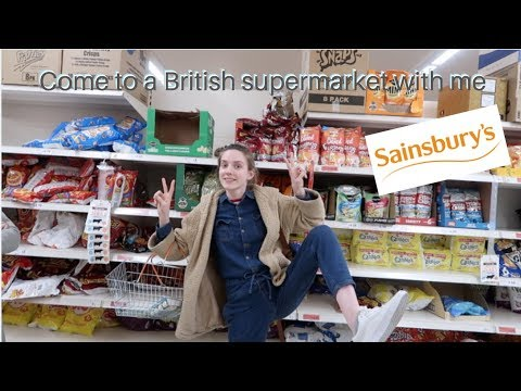 Come to a british supermarket with me (Sainsbury's edition)