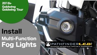 PATHFINDERLED Multi-Function LED Fog Lights for 2018 Honda Goldwing GL1800